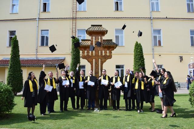 """Festivitatea de absolvire a Promoţiei 2018 a Universităţii """"Babeş–Bolyai"""", Facultatea de Teologie Greco-Catolică, Departamentul Oradea"""